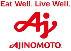 Eat Well, Live Well. Ajinomoto Logo