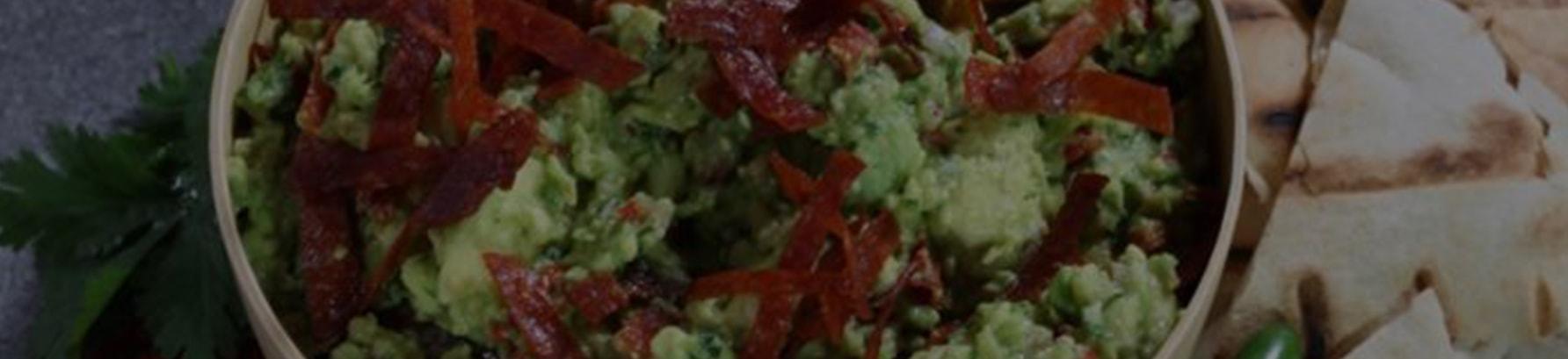 Mediterranean Umami Guacamole Recipe - Header